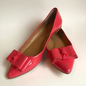 J.Crew flats with emery bow